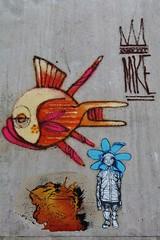 Atom Ludik_6847 boulevard du Gnral Jean Simon Paris 13 (meuh1246) Tags: streetart paris atomludik animaux poisson boulevarddugnraljeansimon lelavomatik paris13