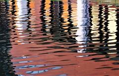 Multi-coloured (dlanor smada) Tags: reflections grandunion canals water aylesbury bucks multicoloured