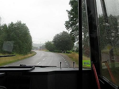 Buss 550, Alingsåsvägen, Hedared, 2009(1)