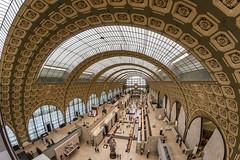 Museo de Orsay (Juan Ig. Llana) Tags: paris ledefrance francia musedorsay museo orsay arte pinacoteca estacin arquitectura bveda arco edificio