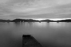 The Slip (Brian Travelling) Tags: slipway slip boat water calm flat mountains hills sky monotone monochrome blackandwhite pentaxkr pentax pentaxdal peaceful peace argyll art clouds coast clyde firthofclyde firth inverclyde interesting light mono outdoor outdoors outside photography photograph photoshop tranquil tranquility scotland scenery scenic silhouette seascape scottish serene natural nature westofscotland weather west waterscape