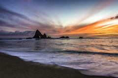 Martin's Light (Simon Huynh) Tags: martinsbeach rock wave watersapes coastline california