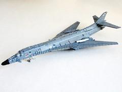 B-1B updated (Mad physicist) Tags: lego aircraft b1b usaf lancer bone