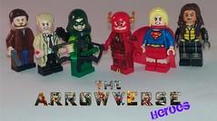 DCTV Heroes (Barratosh#2) Tags: lego legends tomorrow arrow flash supergirl rip hunter constantine green vixen atom arsenal speedy black canary jay garrick martian manhunter ras al ghul damien dhark vandel savage dark archer maxwell lord deathstroke reverse zoom