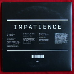 We Are Scientists - Impatience (pt 2) (A Vinyline) Tags: impatience wearescientists arielrechtshaid michaeltapper keithmurray chriscain getoff virginrecords virgin 2008 vinylcollection singles gatefoldsleeve recordcollection records vinyl
