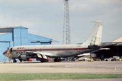 N751TA Boeing 707-123B Aeroamerica (pslg05896) Tags: n751ta boeing707 aeroamerica tigerair ltn eggw luton