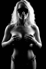 Light and Darkness (Alluring Light) Tags: alluringlight artistic arms beautiful beauty body black bw breast braless breasts blackandwhite covered clevage dd elegant female face fit girl goddess glasses hair hands implied lips lady longhair long lowkey model natural naked nude nudity neck nikon woman photography portfolio skin seductive stomach sexy topless white young