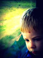 A traveller (Aga Dzicio) Tags: child kid boy travel traveller train journey childhood chopiec kolej enfant fills son garcon chopak podrnik