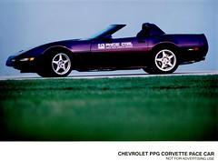 1995 Chevrolet PPG Corvette Pace Car (aldenjewell) Tags: 1995 chevrolet ppg corvette pace car press photo