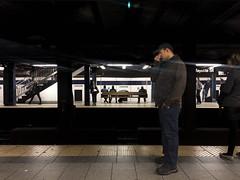 it's friday, right? (s5r5h) Tags: manhattan nyc masstransit mtanyc dailycommute soho underground subway broadway lafayette houston