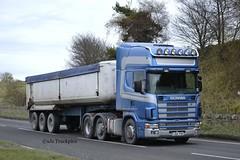Scania 164L,Simon Walchester Haulage.