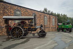 FOXFIELD (Ben Matthews1992) Tags: foxfield railway traction engine steam old vintage historic preserved vehicle transport british staffordshire england britain fowler roller lily 18663 tf1851 sentinel 5558 maggiemay dnb pd1854