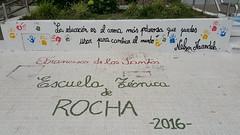 Muros que hablan #Mandela #quote (Adita Cz) Tags: quote mandela rocha 1picaday2016 graffiti