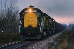 Running out of time (Moffat Road) Tags: chicagoandnorthwestern cnw alco c628 oretrain brampton michigan locomotive highhood 6708 mi