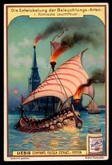 Liebig Tradecard S591 - Fire Light (cigcardpix) Tags: tradecards advertising ephemera vintage chromo liebig