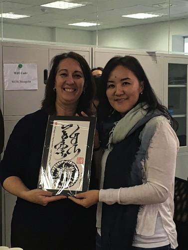 WUSC-Mongolia celebrates it's first anniversary