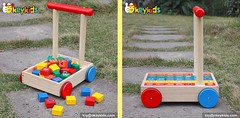 Wholesale cheap wooden walker baby push toys (Taishitoy) Tags: toy woodentoy bike babytoy