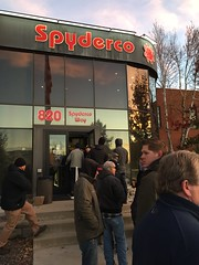 2016 Spyderco Factory Seconds sale (cougar337) Tags: spyderco factory seconds 2nds sale golden colorado line building hq knives knife