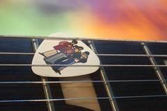 We All Live In A... (gpa.1001) Tags: macromondays beatlesbeetles guitar pick beatles sg
