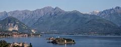Lac Majeur. Italie (jjcordier) Tags: lacmajeur pimont italie le alpes panorama lesborromes lac