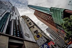 Hong Kong 25 (kruser1947 (all killer no filler)) Tags: architecture hongkong skyscraper hdr lookingup
