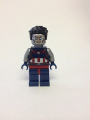 Citizen Steel (CW) (Dehroguesfanboy) Tags: steel cw legends tomorrow lot lego purist dc minifigure