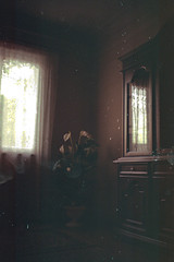 my mother's house (nune tunjikian) Tags: house film 35mmfilm bed bedroom kitchen old vintage