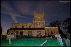 Croxton Church & The Sky At Night (Resilient741 Photography) Tags: church uk united kingdom england leicestershire lincolnshire nottinghamshire village night phtoto photography sky light stars illuminated croxton kerrial british st botolph john baptist