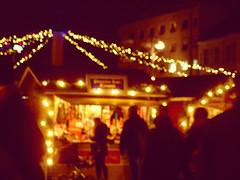 Christmas Market Bokeh (mintukka) Tags: christmasmarket lights bokeh mood christmas december shopping atmosphere evening christmasshopping