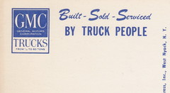 SE Detroit MI THE TRUCK PEOPLE from Half Ton to 60 Ton GMC PICKUP TRUCK Built Sold and Serviced TRUCK PLANT to GM TRUCK & COACH HISTORY & HERITAGE- (UpNorth Memories - Donald (Don) Harrison) Tags: christmas santa jesus vintage antique postcard rppc don harrison upnorth memories upnorth memories upnorthmemories michigan history heritage travel tourism michigan roadside restaurants cafes motels hotels tourist stops travel trailer parks campgrounds cottages cabins roadside entertainment natural wonders attractions usa puremichigan  railroad ferry car excursion