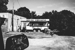 Nashville, Tennessee (G. L. Brown) Tags: blackandwhite bw food monochrome contrast truck restaurant nashville tennessee candid mexican grainy nashvillestreetphotography