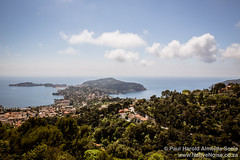 View Over Saint-Jean-Cap-Ferrat, France