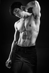 Thai Male Model Shoot - Muscles without a Shirt