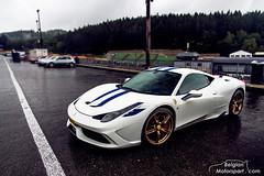 Ferrari 458 Speciale (belgian.motorsport) Tags: test white gold corse wheels ferrari testing spa speciale clienti francorchamps 2015 spafrancorchamps 458