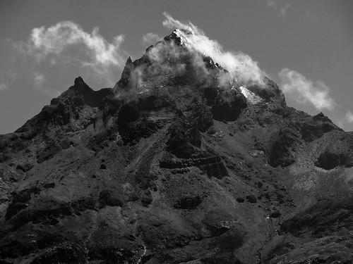 Cotacachi (4 944 m) depuis le lac Cuicocha - Volcan d'Équateur