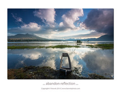 ... abandon reflection ... (liewwk - www.liewwkphoto.com) Tags: bali reflection nature indonesia photography online cpl batur kintamani gunungbatur mountbatur photohunter rgnd liewwk liewwknature