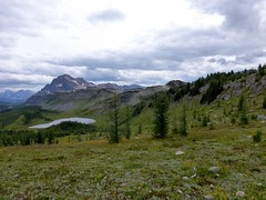 7-084 (Gnarlene) Tags: hiking banff healypass monarchramparts