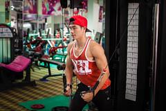 LN_1464 (LeNam- Call me: 84979972301) Tags: red man men club train training asian vietnamese muscle vietnam biceps gym abs saigon gymclub leefit