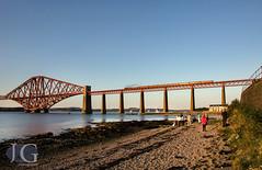 Black 5 No. 45407 - The Forth Bridge (Jonathon Gourlay) Tags: