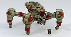 Tau SXV141 Superheavy Assault Walker (Garry_rocks) Tags: conversion lego 40k walker warhammer mecha sxv141
