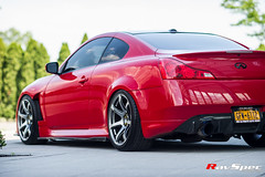 "WORK Emotion T7R on Infiniti G37 • <a style=""font-size:0.8em;"" href=""http://www.flickr.com/photos/64399356@N08/21531512613/"" target=""_blank"">View on Flickr</a>"