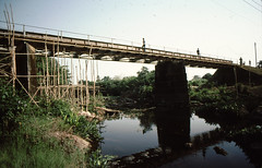 Sierra Leone 1979-80 Daru Bridge - a Pet Self-Help Project in the President Stevens' Home Town of Moyamba, Southern Province (mani-media) Tags: people for book aerial sierra business infrastructure summit pr leone healthcare 197980 oau