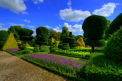 TOPIARY GARDEN AT LEVENS HALL, LEVENS, KENDAL, CUMBRIA, ENGLAND. (ZACERIN) Tags: uk ireland lake paul james ii redman the tower lake garden  levens christopher hall king photography at de district pele most of family only pictures history halls england haunted cumbria topiary zacerin ghosts ghosts kendal levens levens topiary bellingham