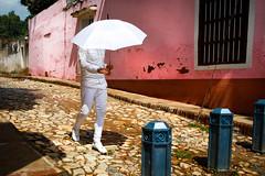 Iyawó (Lil [Kristen Elsby]) Tags: canon5dmarkii cuba trinidad travel travelphotography santeria santeros religion initiate iyaworaje iyawó theyearinwhite yoruba streetphotography streetlife editorial dailylife reportage documentaryphotography sanctispiritus topv2222 iyawo