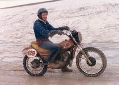 Steve Yamaha 400 (NESR 1978) Tags: vintage winnipeg manitoba motorcycle yamaha northend nesr nesr1978