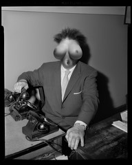 Tit Head (rjh_1960) Tags: composite photoshop vintage tits humor surreal