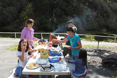 Picnic time 1 (Aggiewelshes) Tags: travel utah october picnic lisa victor vivian olsen cailin jovie 2015 provocanyon vivianpark jalila