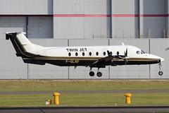 Twin Jet - Beech 1900D F-GLNF @ Cardiff Rhoose (Shaun Grist) Tags: wales airport aircraft aviation cardiff airline beech aeroplanes cardiffairport rhoose 1900d avgeek twinjet cardiffrhoose fglnf
