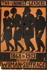 Suffrage campaigning: The Unionist Leaders 1868-1913 in favour of Woman Suffrage c.1913