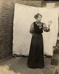 Christabel Pankhurst, c.1908-c.1909.